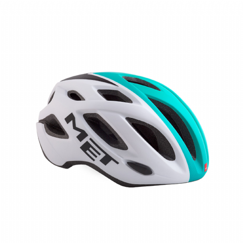 Helmet MET Idolo - White Shaded Mint Green Matt